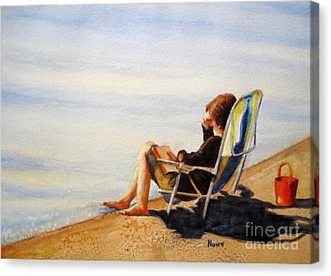 Lake Wylie Canvas Print - The Good Life by Shirley Braithwaite Hunt