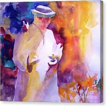 The Good Saint Canvas Print by Patsy Walton