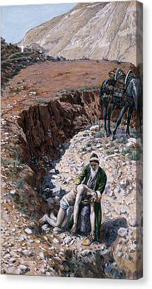 The Good Samaritan Canvas Print by Tissot