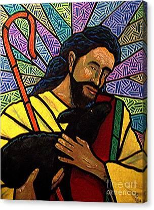 The Good Shepherd - Practice Painting One Canvas Print by Jim Harris