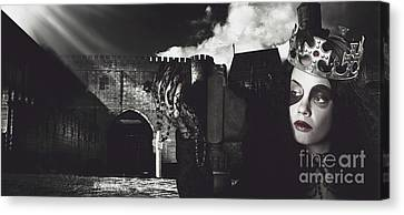 Sombre Canvas Print - The Good The Bad And The Medi Evil by Jorgo Photography - Wall Art Gallery