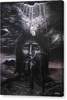 The Gospel Canvas Print by Bill Stephens