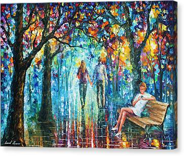 Canvas Print - The Gossip Implication  by Leonid Afremov