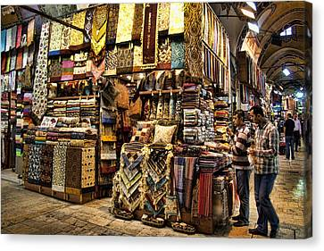 The Grand Bazaar In Istanbul Turkey Canvas Print