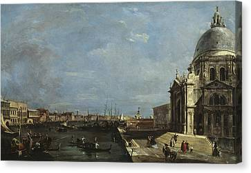 The Grand Canal, Venice Canvas Print by Francesco Guardi