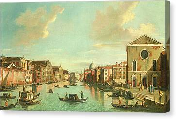 The Grand Canal  Venice Canvas Print