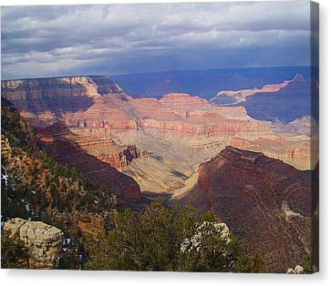 The Grand Canyon Canvas Print by Marna Edwards Flavell