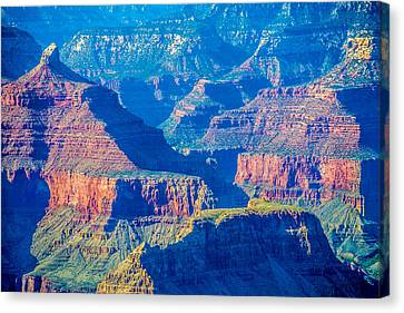 The Grand Canyon Peaks Canvas Print by Alex Grichenko