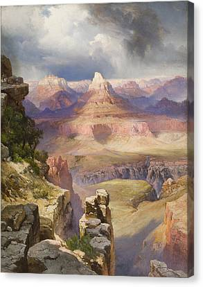 The Grand Canyon Canvas Print by Thomas Moran
