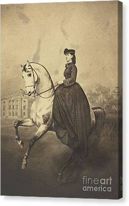The Grand Duchess Alexandra Canvas Print by MotionAge Designs