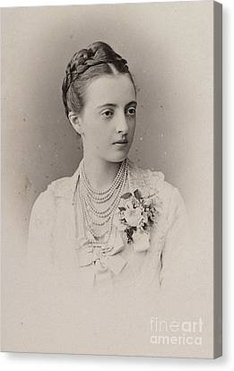 The Grand Duchess Anastasia Canvas Print by MotionAge Designs