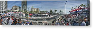 The Grand Prix Canvas Print by Tommy Anderson