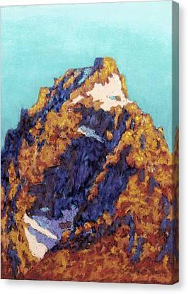 The Grand Teton Canvas Print by Abbie Groves