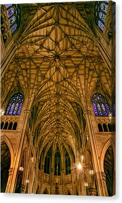 The Grandeur Of St. Patrick's Cathedral Canvas Print by Jessica Jenney