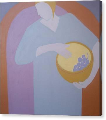 The Grape Bearer Canvas Print