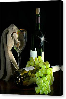 The Grapes Canvas Print by Diana Angstadt