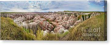 Deep And Wide Panorama Canvas Print
