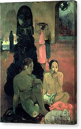 The Great Buddha Canvas Print by Paul Gauguin