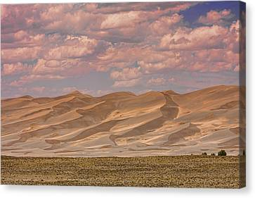 The Great Colorado Sand Dunes  177 Canvas Print