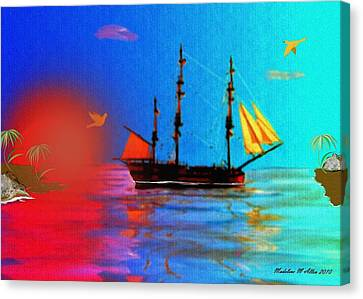 The Great Escape Canvas Print by Madeline  Allen - SmudgeArt