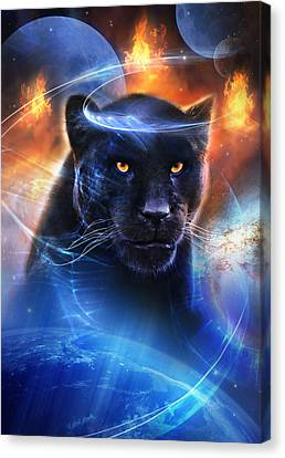Panthers Canvas Print - The Great Feline by Philip Straub