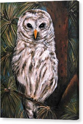 The Great Hunter Canvas Print by Carol Sweetwood