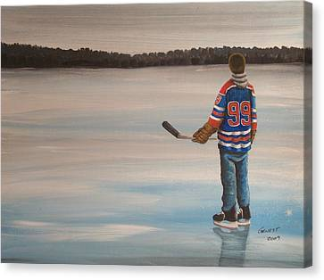 The Great One Canvas Print by Ron  Genest