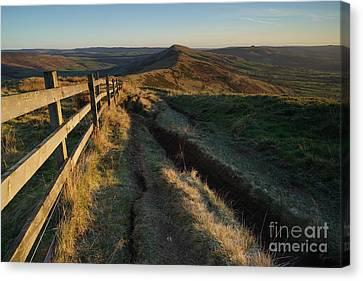 The Great Ridge Canvas Print by Nichola Denny