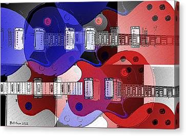 The Great Rock And Roll Swindle Canvas Print by Bill Cannon