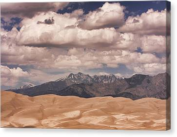 The Great Sand Dunes 88 Canvas Print
