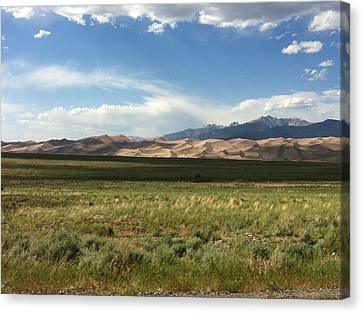 The Great Sand Dunes Canvas Print by Christin Brodie
