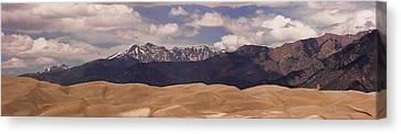 The Great Sand Dunes Panorama 1 Canvas Print by James BO  Insogna