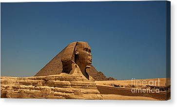 The Great Sphinx Of Giza 2 Canvas Print