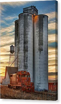The Great Western Sugar Mill Longmont Colorado Canvas Print by James BO  Insogna
