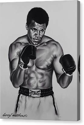 The Greatest Canvas Print by Darryl Matthews