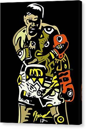 The Greatest  Canvas Print by Kamoni Khem