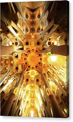 The Greatness Of God And Triumph Of Gaudi4 Canvas Print by Vadim Goodwill