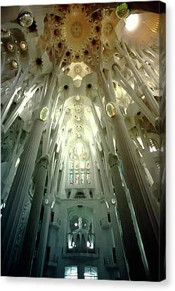 The Greatness Of God And Triumph Of Gaudi5 Canvas Print by Vadim Goodwill