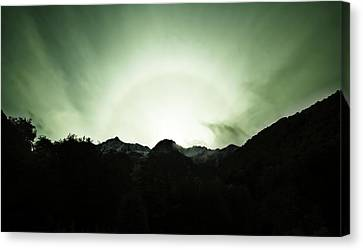 Canvas Print featuring the photograph The Green Dream by Odille Esmonde-Morgan