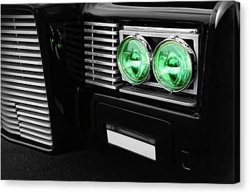 The Green Hornet Black Beauty Clone Car Canvas Print by Gordon Dean II