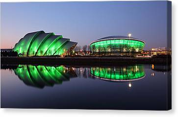 Canvas Print featuring the photograph The Green Hour by Grant Glendinning