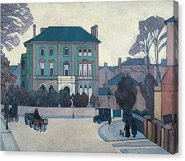 City Canvas Print - The Green House, St John's Wood by Robert Bevan