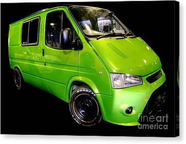 The Green Machine Canvas Print by Vicki Spindler
