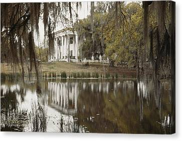 The Greenwoood Plantation Home Canvas Print by J. Baylor Roberts