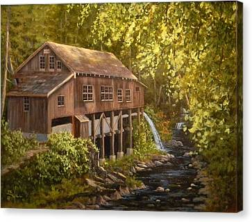 The Grist Mill Canvas Print