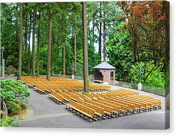The Grotto Open Space, Prayer Place Canvas Print