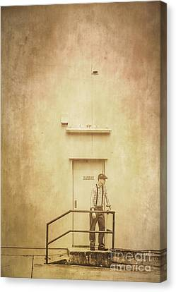 The Grunge Years. Vintage Paper Background Canvas Print by Jorgo Photography - Wall Art Gallery