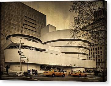 The Guggenheim Canvas Print by Evelina Kremsdorf
