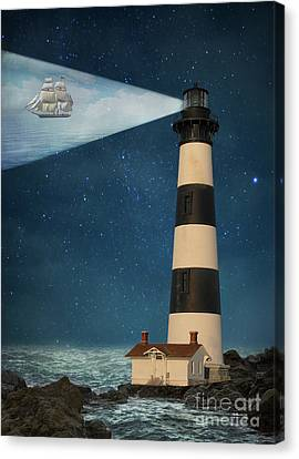 Guides Canvas Print - The Guiding Light by Juli Scalzi