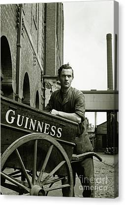 The Guinness Man Canvas Print